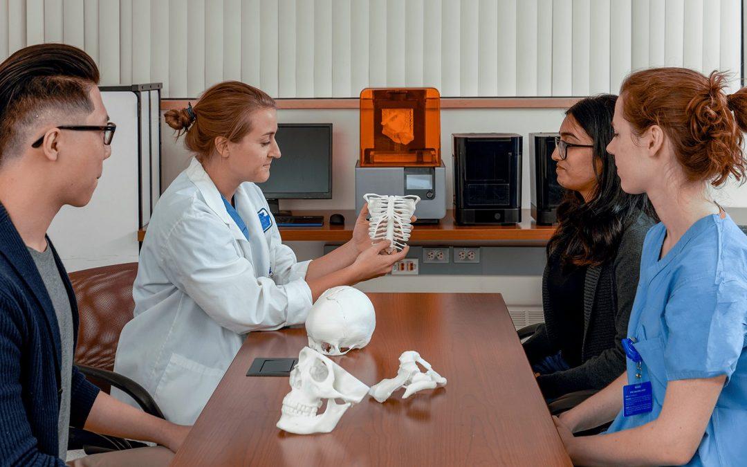 Création de modèle imprimé en 3D pour intervention