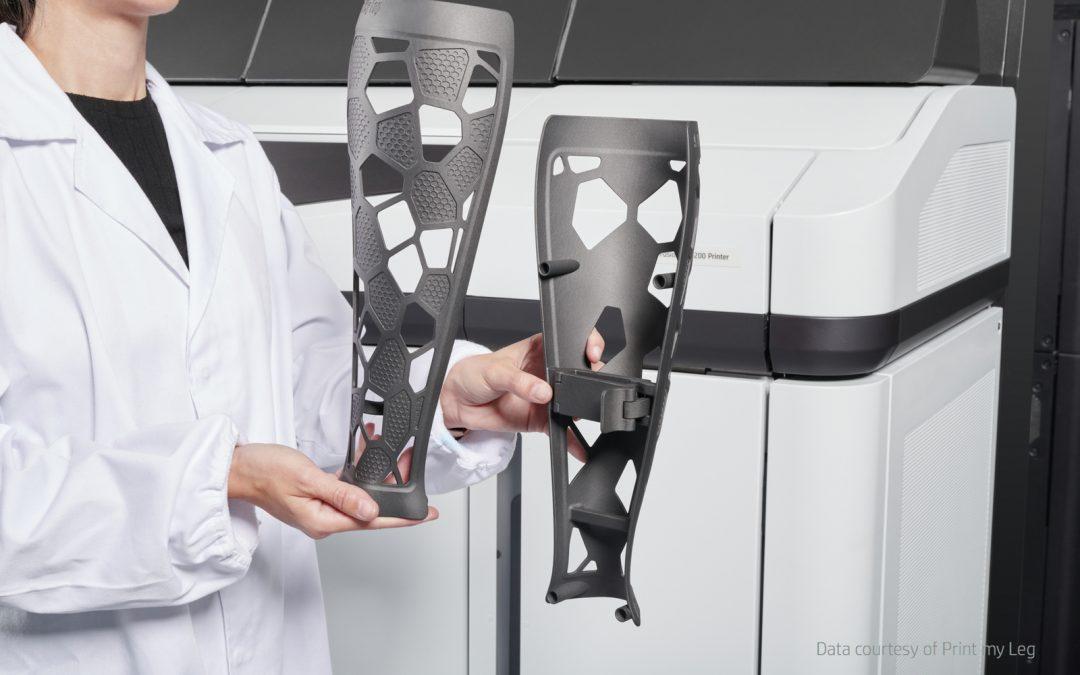Transformer orthèses et prothèses avec l'impression 3D HP MJF